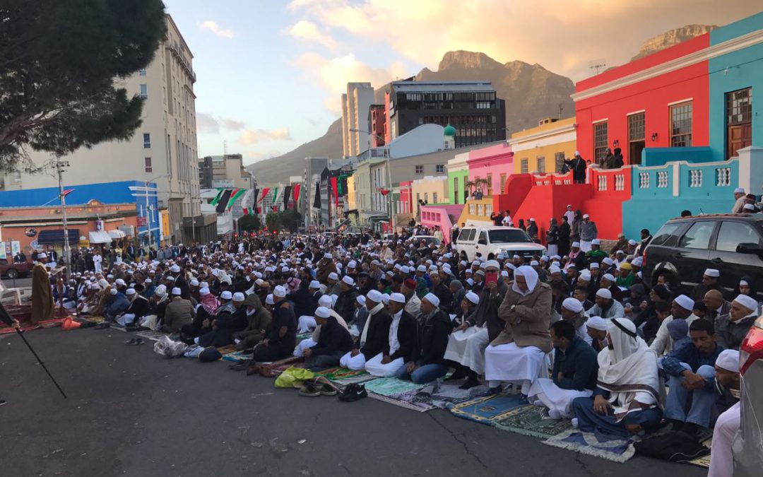 A Historical Chapter in the History of Bo-Kaap – Mass Eid Salaah