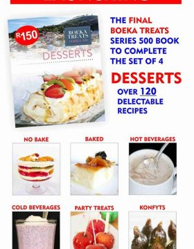 2019 Boeka Treats Series 500 Desserts