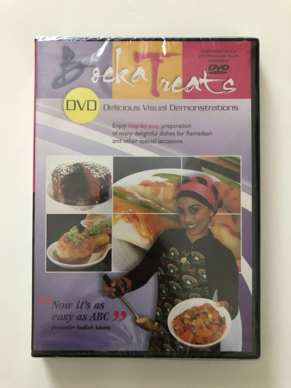 Boeka Treats DVD Delicious Visual Demonstrations